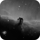 Horsehead Nebula (IC434) and NGC2023 in NB (Ha/SII),                                Jose Carballada
