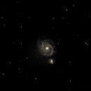 M51 Whirlpool Galaxy,                                Dylan Woodbrey