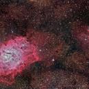 M8 Lagoon Nebula - DSW Unguided test data,                                Paddy Gilliland