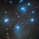 M45. The Pleiades.,                                Sergei Sankov