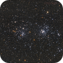 NGC 869 and 884 - h chi persei,                                Jens Zippel