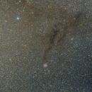 The smoky Cocoon Nebula,                                Jari Saukkonen