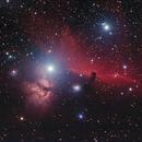 Horsehead and Flame Nebula,                                Ezshrkman