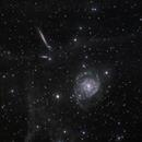 NGC 2805, friends and IFN,                                Vadim Kozatchenko