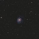 M101 the Pinwheel Galaxy,                                mackiedlm