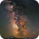Milky Way over the San Juans - Tracked blend,                                Shane