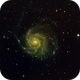 M101 Pinwheel Galaxy,                                Astrobout
