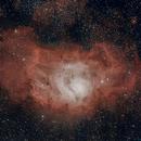 M8 - Lagoon Nebula,                                Thierry Hergault