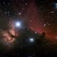 Flame Nebula and Horsehead Nebula,                                Christian Kussberger