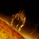 Solar Prominence 9/11/2017,                                Jim Matzger