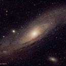 Andromeda Galaxy - M31,                                Jantje