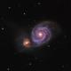 The Whirlpool Galaxy (M51),                                bortle6er