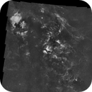 50 Panel Cygnus Mosaic made with APP with 0.11 pixel RMS registration,                                Kees Scherer