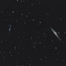 NGC 4631 & NGC 4656/57,                                Frankensweeniie