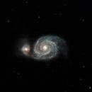 Whirlpool Galaxy,                                Roger Nichol