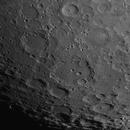 Clavius region, 81% waxing moon,                                turfpit