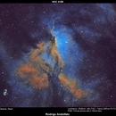NGC 6188 with Canon 200mm FD lens,                                Rodrigo Andolfato