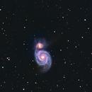M51 Whirlpool Galaxy,                                VulpescuChristian