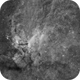 IC 4628 - Prawn Nebula in Scorpius (Narrowband HA),                                Diego Cartes