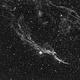 Veil Nebula NGC 6960 - H-alpha data,                                T L Samuels