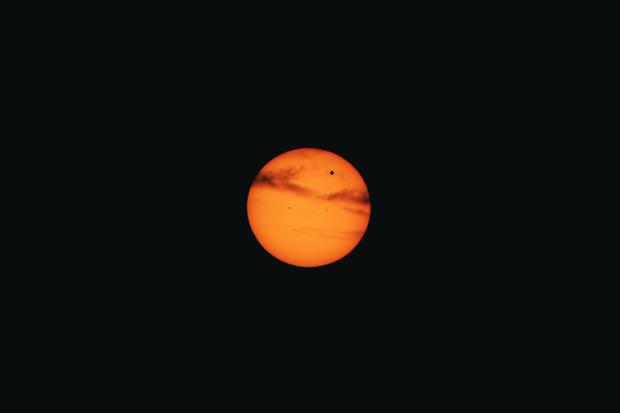 Venus Transit,                                Steven Bellavia