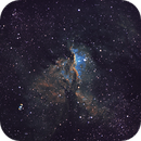 NGC 6188 with 135mm lens in Hubble Palette,                                Rodrigo Andolfato