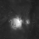 M42 - The Orion Nebula in Hydrogen alpha,                                Jimmy Eubanks