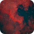 NGC 7000.  The great Wall,                                André Rachwalski