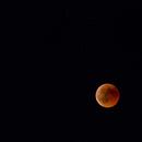 Lunar eclipse and 5 stars,                                Petar_Babic