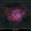 Messier 8, Lagoon Nebula,                                rflinn68
