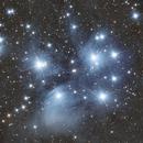 M45 - The Pleiades (via OSC),                                MGralike