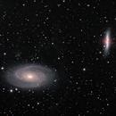 M81 and M82 HaLRGB,                                Dan Kusz