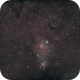 NGC 2264 Cone Nebula-Ha-HOO,                                Adel Kildeev