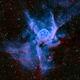 NGC 2359 Thor's Helmet in Narrowband,                                Greg Nelson
