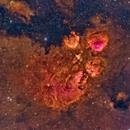 NGC 6334 A Star-Burst HII Region in LSHO,                                Alex Woronow