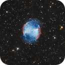 Nebulosa planetaria Dumbbell M27 con Dobson,                                Lakar