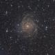 "IC 342 ""The Hidden Galaxy"",                                Christopher Teppan"