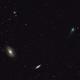 C/2017 T2 (PANSTARRS) passing M81-82 -- GIF,                                Andrew Gutierrez