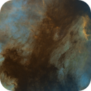 The North America Nebula  SHO STARLESS,                                karimastro