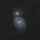 M51 Galaxy,                                Serge