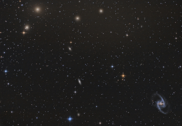 Fornax Galaxy Cluster including SN2012fr,                                Richard Muhlack