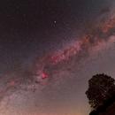 Milky Way over  oasis,                                nicolabugin