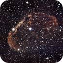 NGC 6888 la nébuleuse du croissant,                                Jacques CROIZIERS