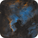 NGC 7000 and Friend,                                Russell McKenzie
