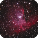 NGC 281 Pac Man crop,                                LeCarl99