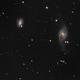 NGC 3718  NGC 3729  groupe HICKSON,                                jelisa