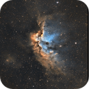 NGC 7380 The Wizard Nebula - hubble palette,                                Salvatore Cozza