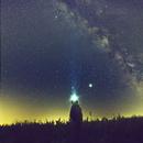 Milkyway selfie with Jupiter & Saturn,                                Kristof Dabrowski