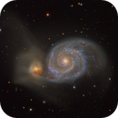 M51 Whirlpool Galaxy,                                chlopak