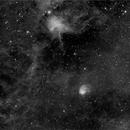 IC 417, NGC 1931, Ha,                                Stephen Garretson